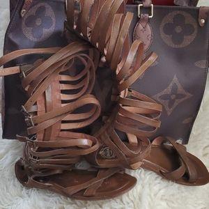 Jeffery campbell ROMANA gladiator sandals size 9.5